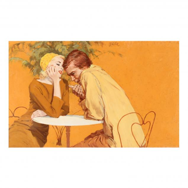 don-neiser-1918-2009-illustration-of-an-intimate-couple