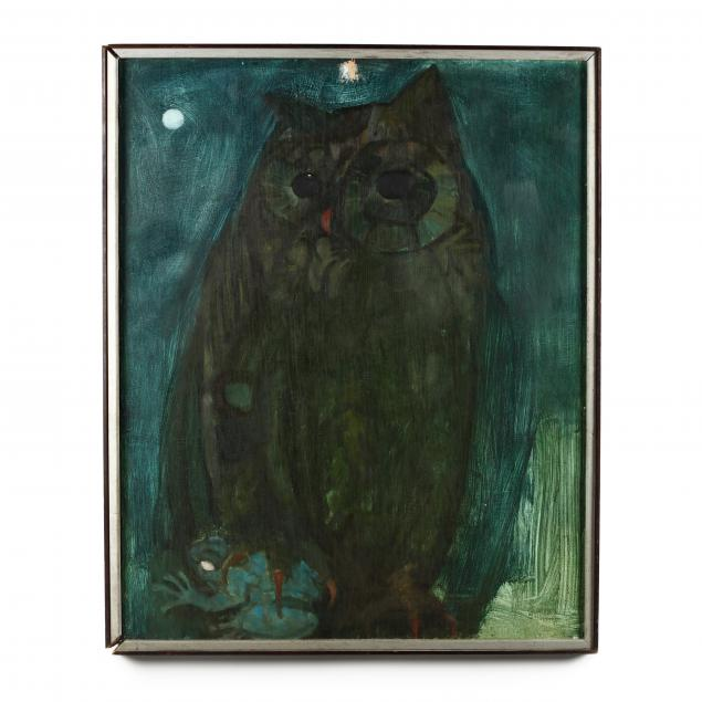 don-neiser-1918-2009-large-owl-portrait