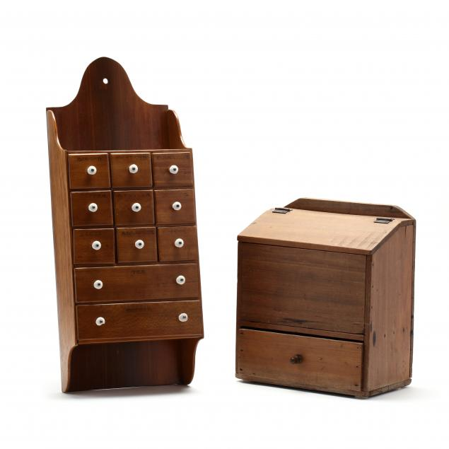 antique-spice-cabinet-and-storage-bin