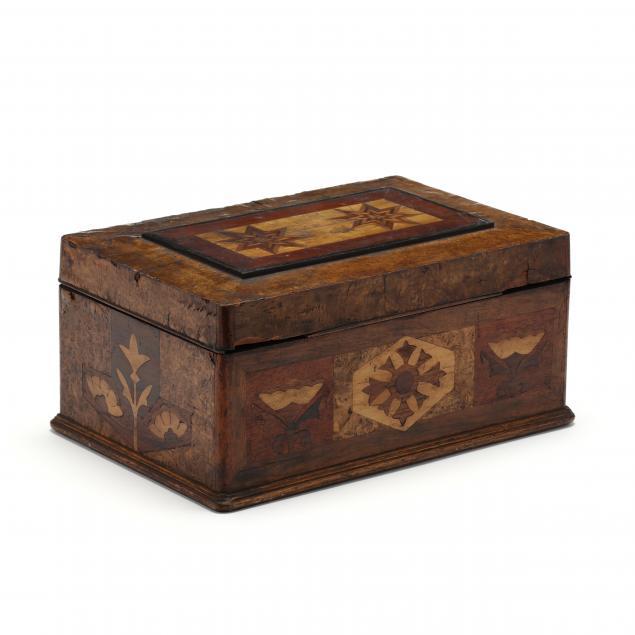antique-marquetry-inlaid-box