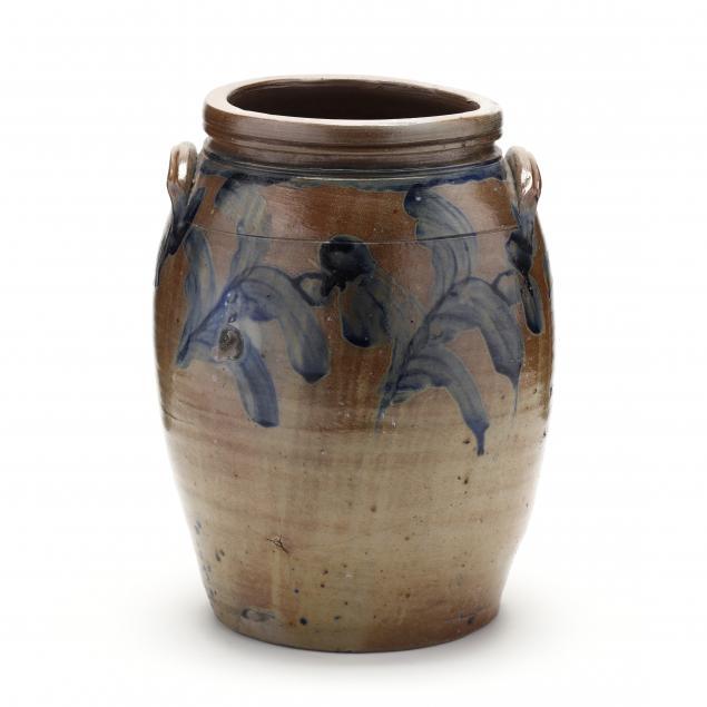 three-gallon-cobalt-decorated-stoneware-crock