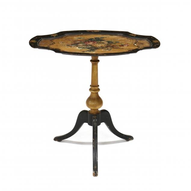 painted-tilt-top-table