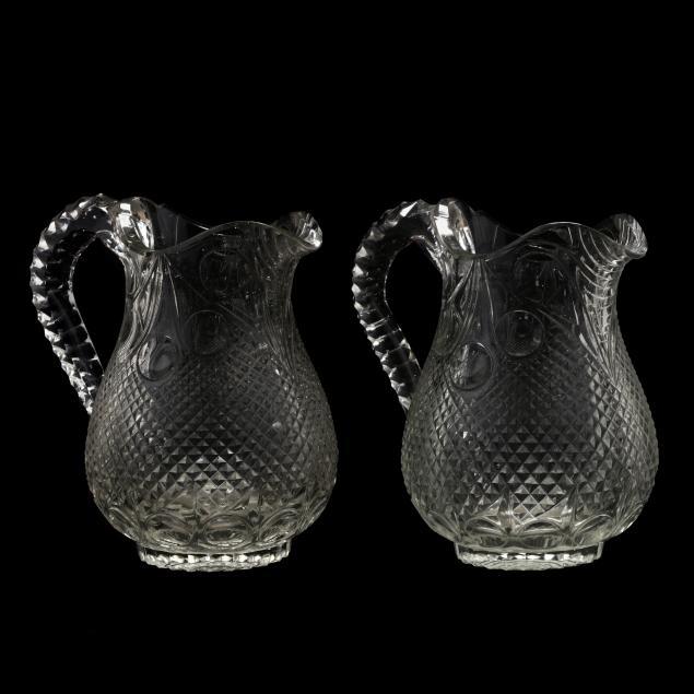 pair-of-anglo-irish-cut-glass-jugs