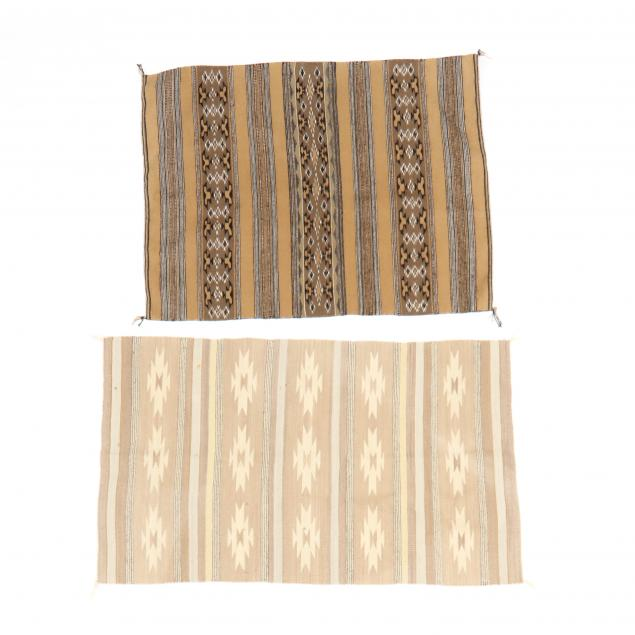 two-south-american-flat-weave-area-rugs