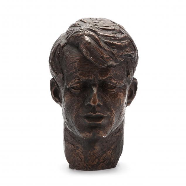 bronze-tone-bust-of-robert-kennedy