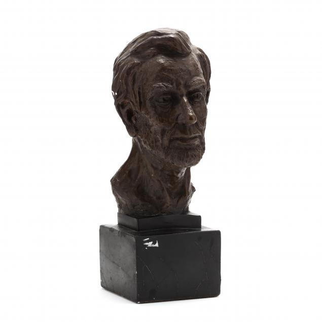 bronze-tone-bust-of-abraham-lincoln