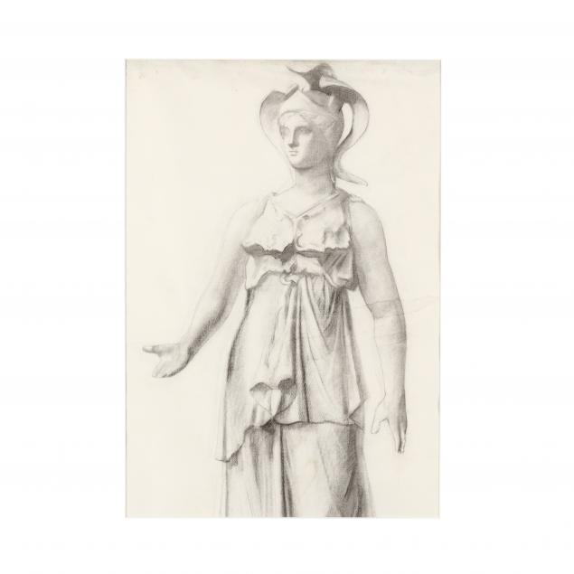 french-school-19th-century-sketch-of-a-classical-sculpture