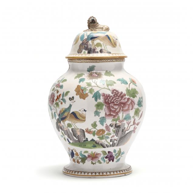 continental-ceramic-lidded-jar-with-chinoiserie-decoration