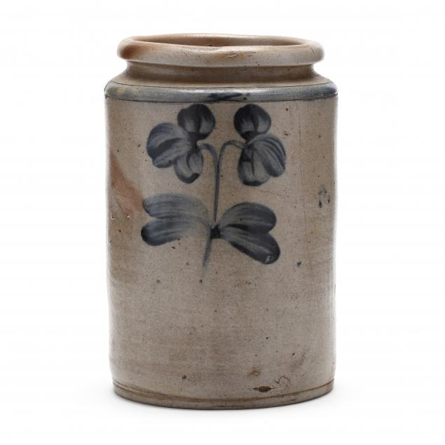 american-salt-glaze-cobalt-decorated-jar