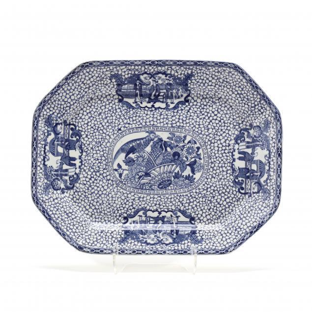 english-chinoiserie-blue-white-transferware-platter