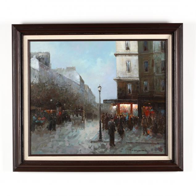 t-e-penck-french-b-1929-parisian-street-scene