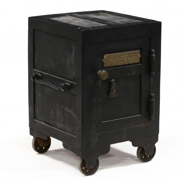 antique-diminutive-iron-floor-safe