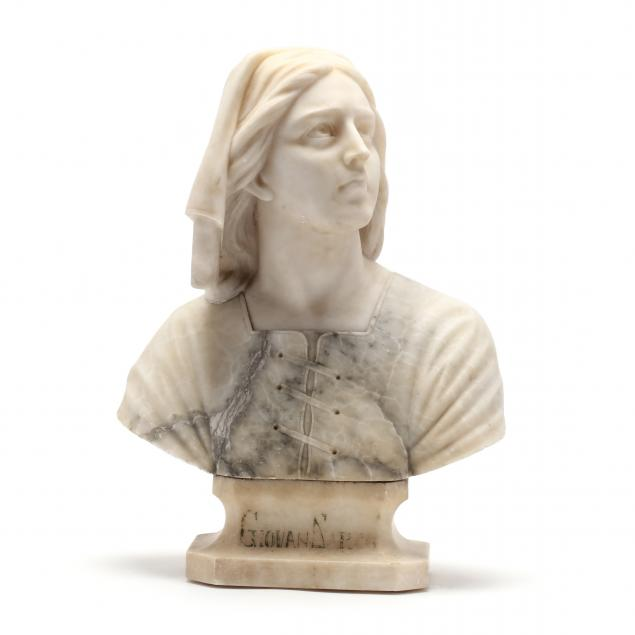 antique-carved-marble-bust-of-joan-of-arc