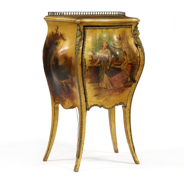 r-j-horner-co-french-painted-bombe-cabinet