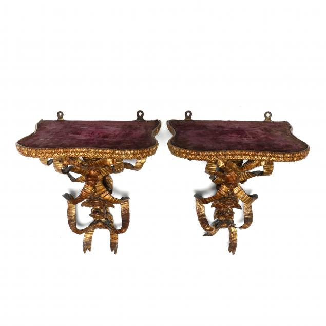 antique-pair-of-french-wall-brackets