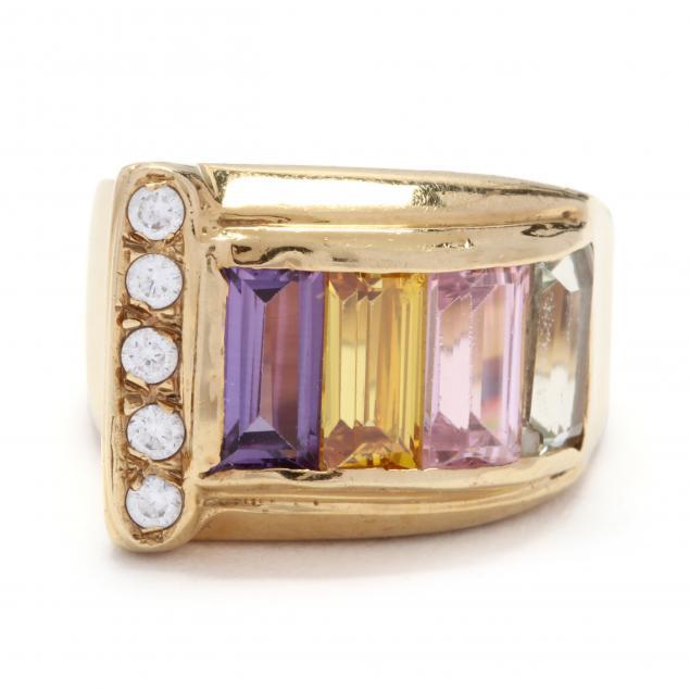 18kt-multi-gemstone-ring-italy