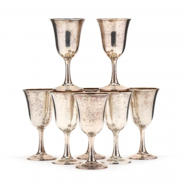 a-set-of-eight-sterling-silver-goblets