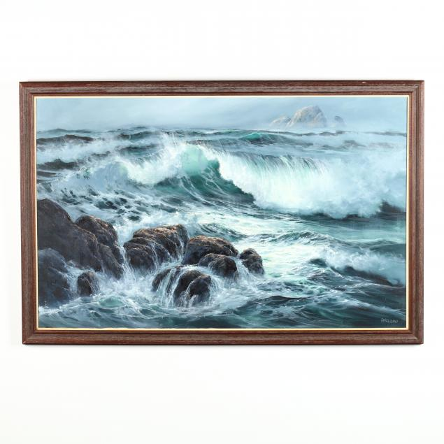 patsee-parker-or-20th-century-seascape-with-crashing-waves