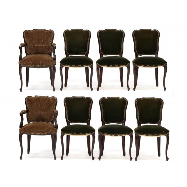 set-of-eight-vintage-french-mahogany-dining-chairs