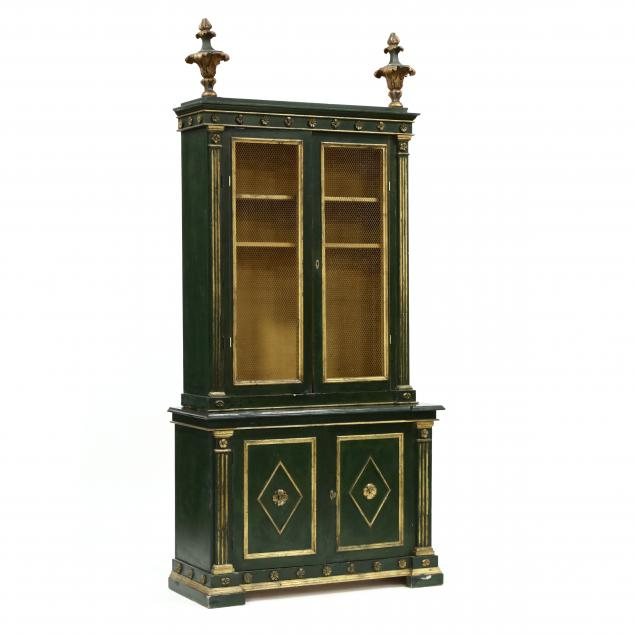 italian-carved-and-painted-step-back-cabinet