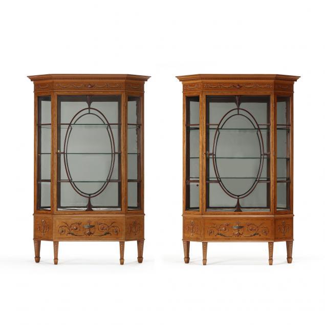 pair-of-english-adams-revival-inlaid-display-cabinets