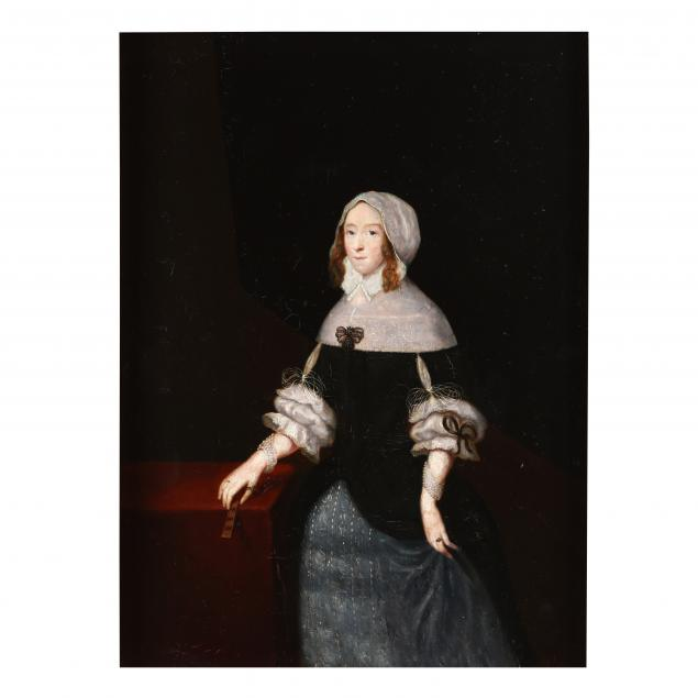 anglo-dutch-school-mid-17th-century-portrait-of-a-woman