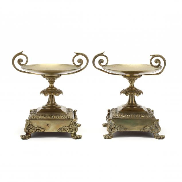 pair-of-neoclassical-brass-tazzas