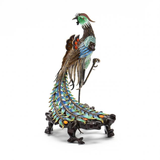 a-chinese-export-silver-and-enamel-cloisonne-phoenix