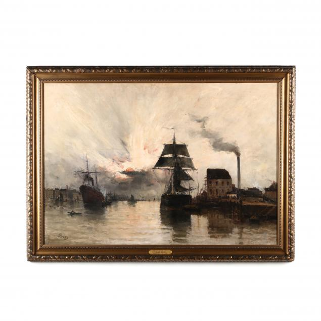 frank-myers-boggs-oh-france-1855-1926-i-l-estuaire-coucher-du-soleil-i