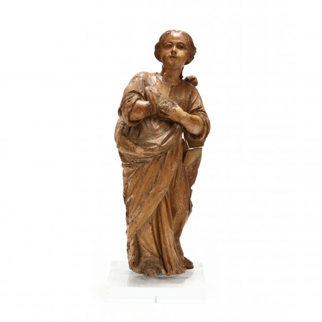 italian-renaissance-carved-wood-madonna