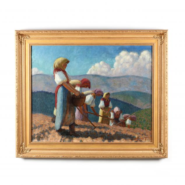 joachim-ferenc-hungary-1882-1964-women-in-the-field