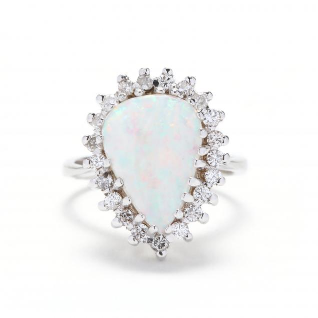 white-gold-opal-and-diamond-ring