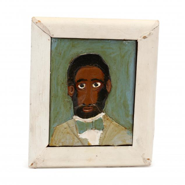 elijah-pierce-american-1892-1984-folk-art-portrait-plaque