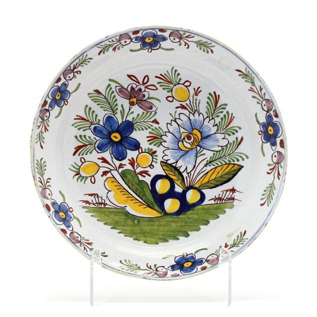 an-english-delft-polychrome-charger