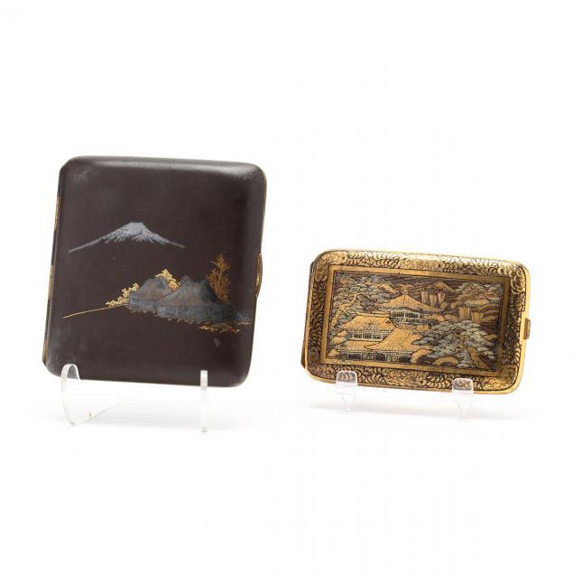 two-japanese-damascene-cigarette-cases