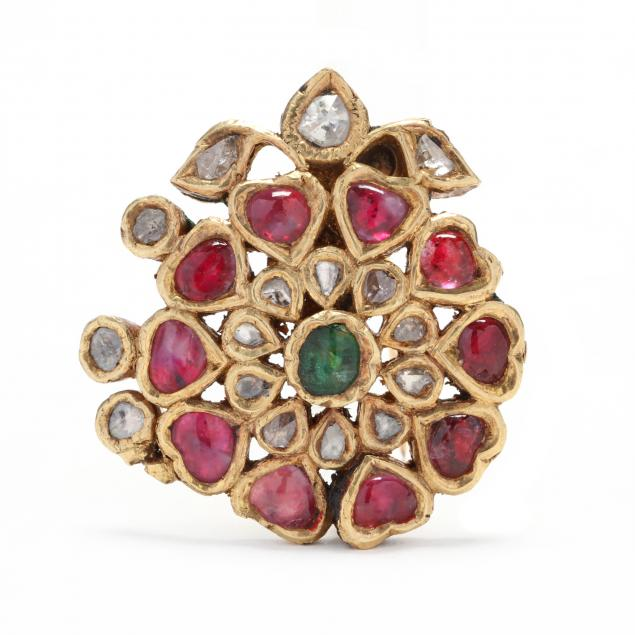 gold-enamel-and-gem-set-brooch