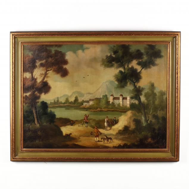 ira-monte-spanish-b-1918-continental-landscape-paintings-with-figures