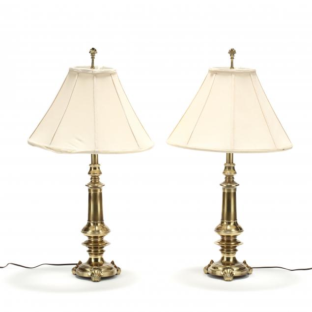 stiffel-pair-of-brass-table-lamps