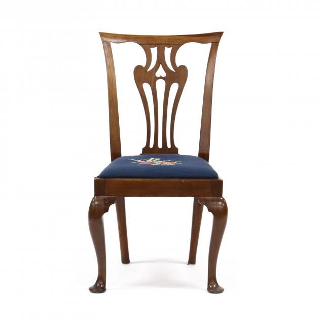 american-queen-anne-mahogany-side-chair