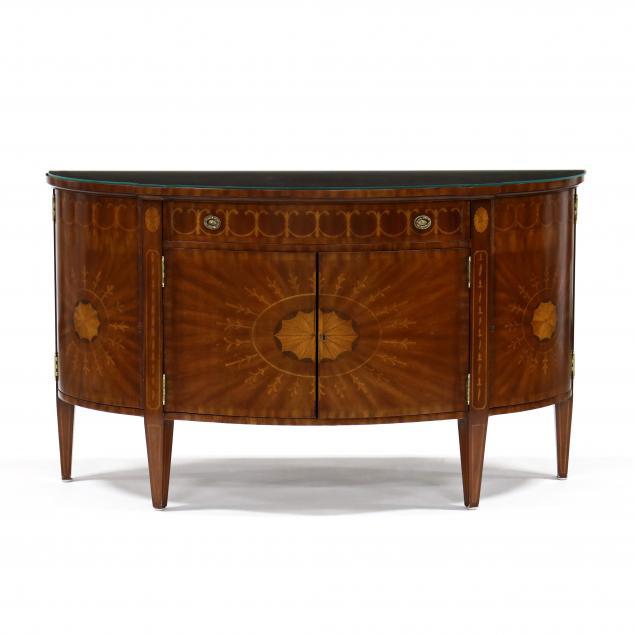maitland-smith-inlaid-demilune-cabinet