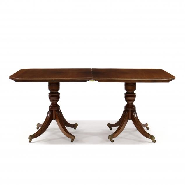 georgian-style-mahogany-double-pedestal-dining-table