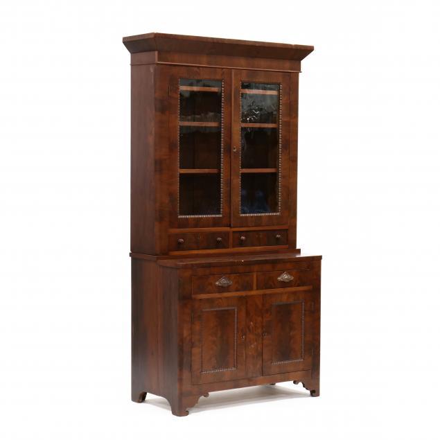 american-classical-mahogany-bookcase