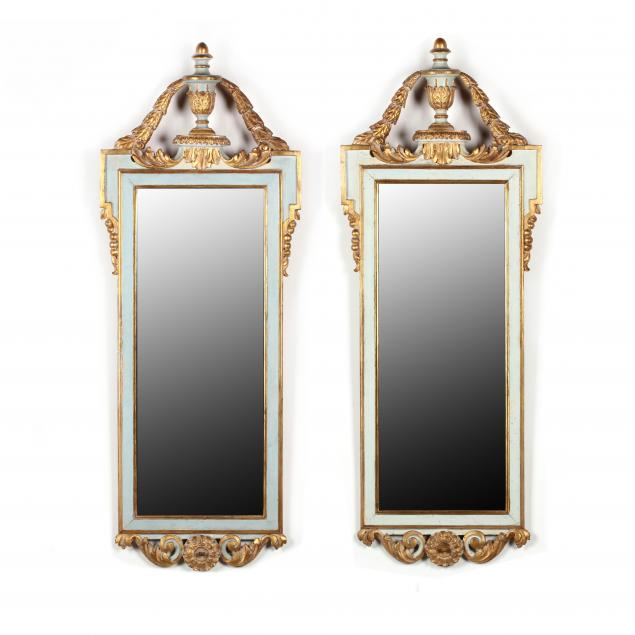 pair-of-italian-painted-and-gilt-mirrors