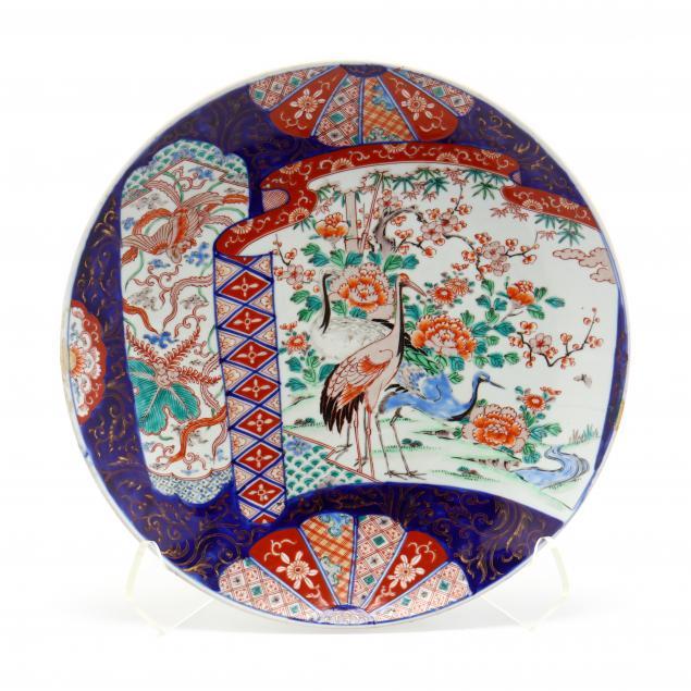 a-large-japanese-imari-porcelain-charger