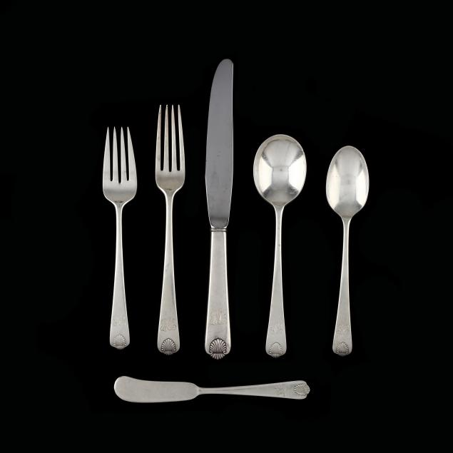international-colonial-shell-sterling-silver-flatware-service