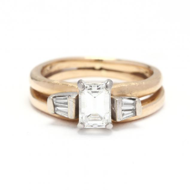 14kt-gold-and-diamond-and-ring-set