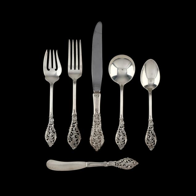 reed-barton-florentine-lace-sterling-silver-flatware-service