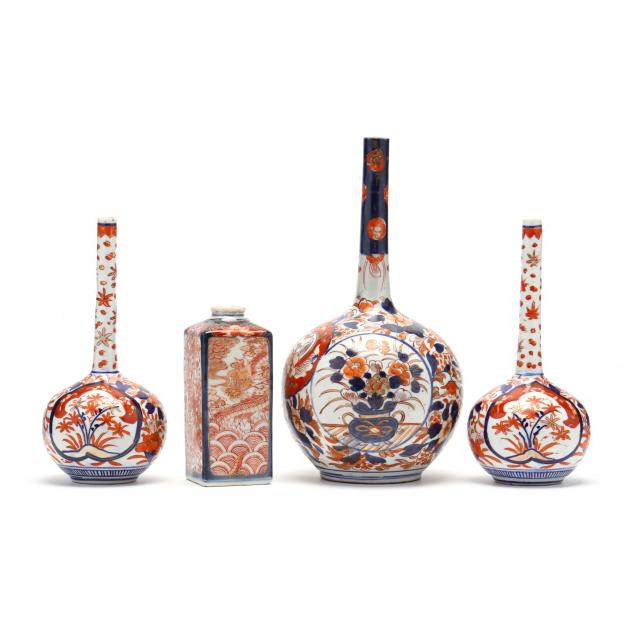 a-group-of-chinese-imari-vases