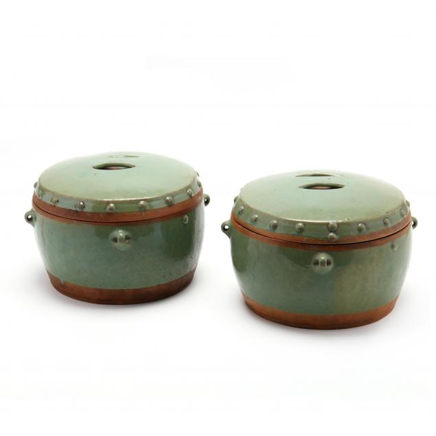 a-pair-of-chinese-celadon-ceramic-jars-with-covers
