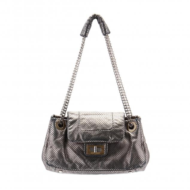 drill-perforated-metallic-silver-flap-bag-chanel